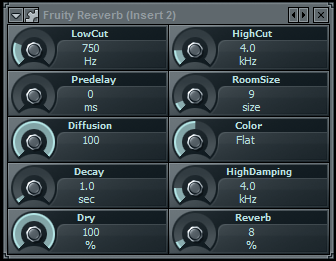 fruity reverb