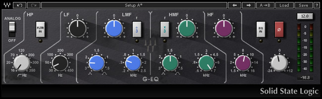 Waves SSL EQ