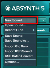 Absynth New Sound