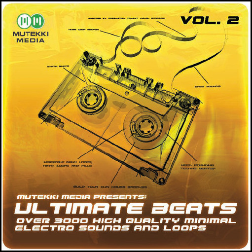 mutekki media ultimate beats vol.1