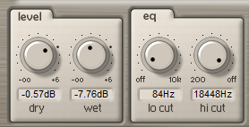 ArtsAcoustic Reverb level_eq