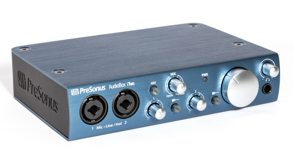 Обзор Presonus AudioBox iTwo