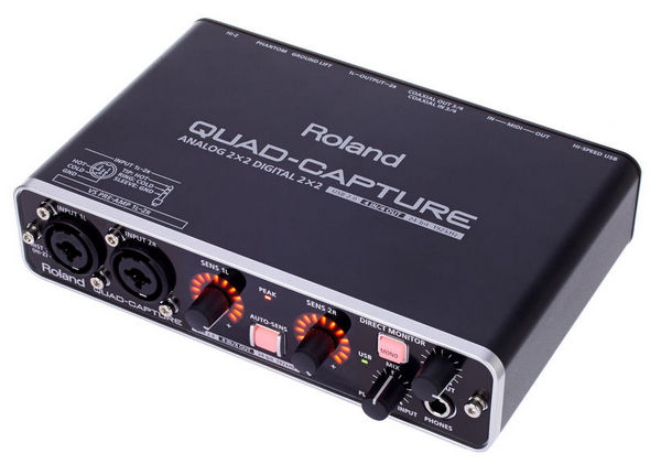 ROLAND UA55 QUAD CAPTURE